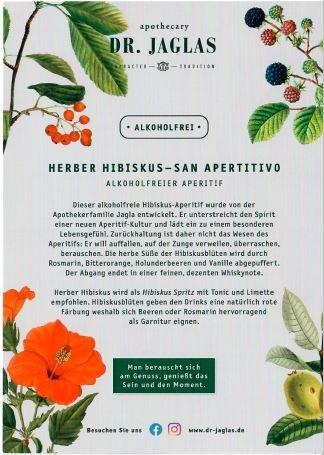 Dr. Jaglas Herber Hibiskus