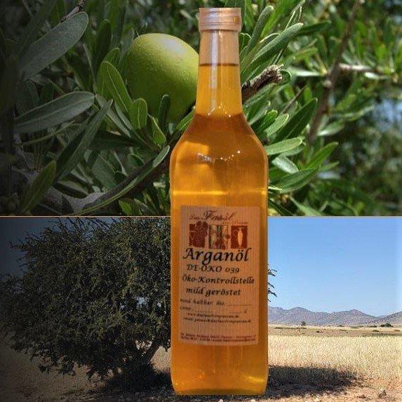 Arganöl  geröstet aus kontrolliert biologischem Anbau