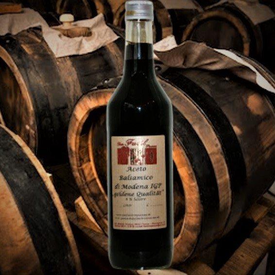 "Aceto Balsamico  di Modena IGP 6% Säure ""Goldene Qualität"""