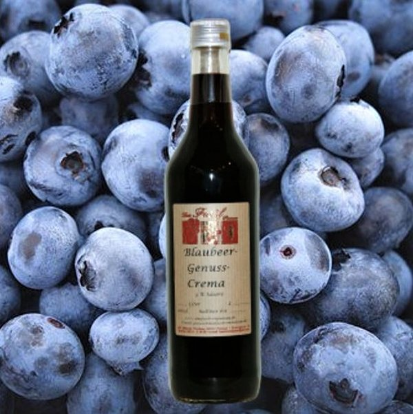 Blaubeer-Genuss-Crema 3 % Säure