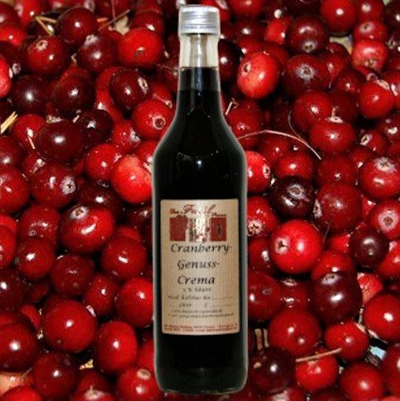 Cranberry-Genuss-Crema 3 % Säure