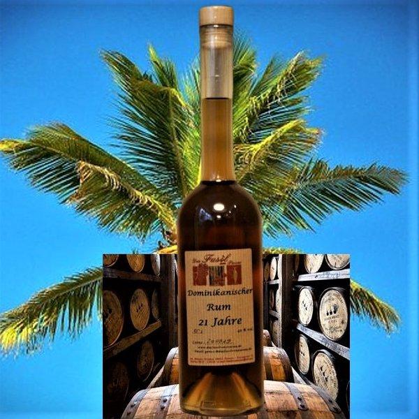Dominikanischer Rum 21 Jahre 40% Vol.