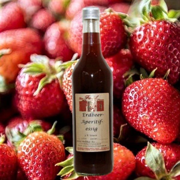 Erdbeer-Aperitifessig  3% Säure