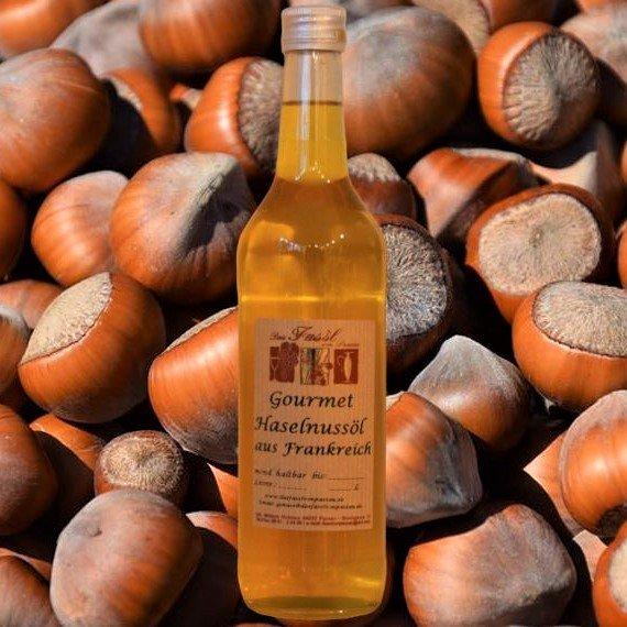 Gourmet Haselnussöl aus Frankreich