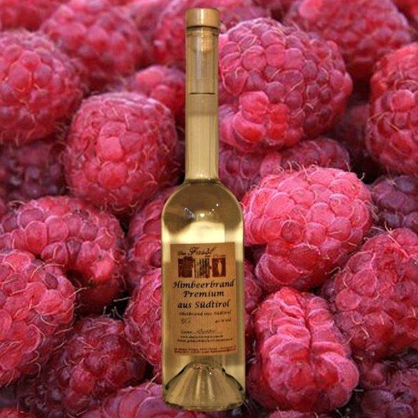 Himbeerbrand Premium aus Südtirol 40% Vol.