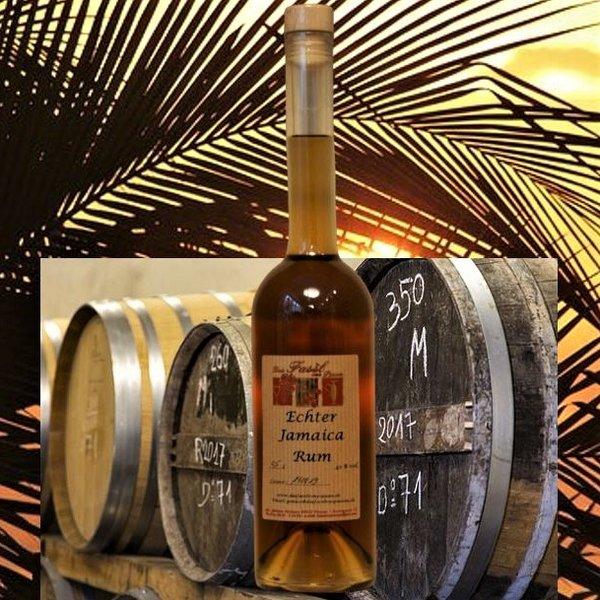 Echter Jamaica Rum im Holzfass gelagert 42% Vol.