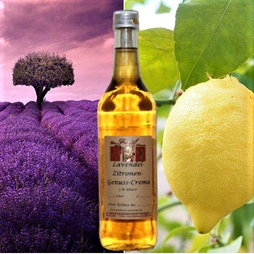 Lavendel-Zitronen- Genuss-Crema 3 % Säure