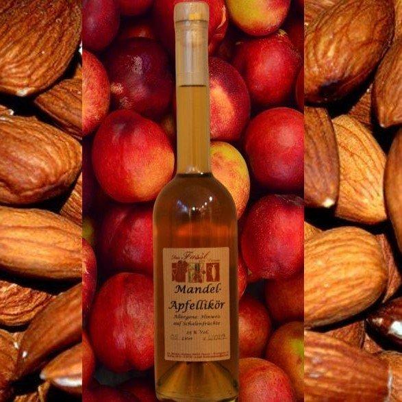 Mandel-Apfel-Likör 25% Vol.
