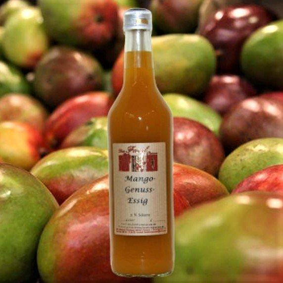 Mango-Genuss-Essig 5% Säure