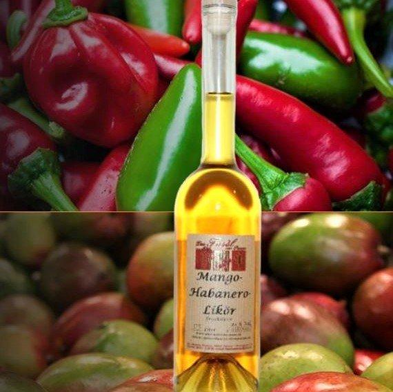 Mango-Habanero - Likör 20 % Vol.