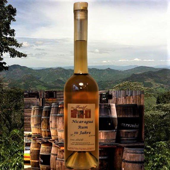 Nicaragua Rum 40% Vol. 10 Jahre holzfassgelagert