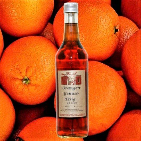 Orangen-Genuss-Essig 5% Säure