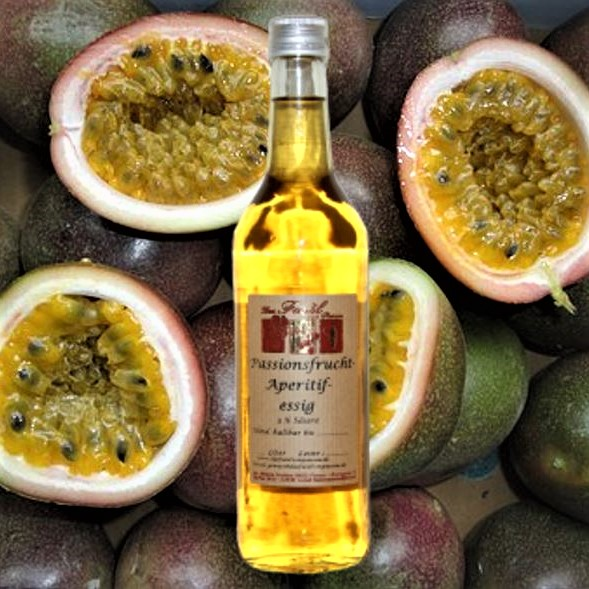 Passionsfrucht-Aperitifessig  3% Säure