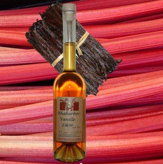 Rhabarber-Vanille-Likör 15% Vol.