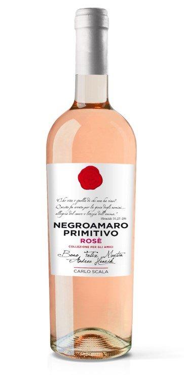 Rosato Primitivo - Negroamaro IGT Carlo Scala 0,75 L