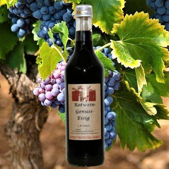 Rotwein-Genuss-Essig 5% Säure