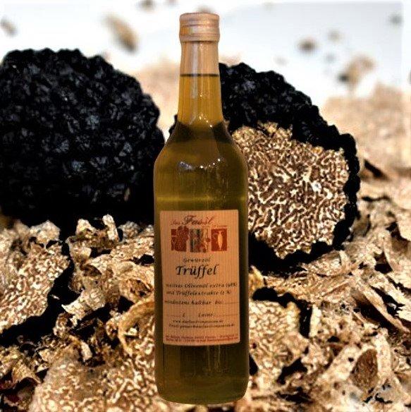 Gewürzöl Trüffel -natives Olivenöl extra-