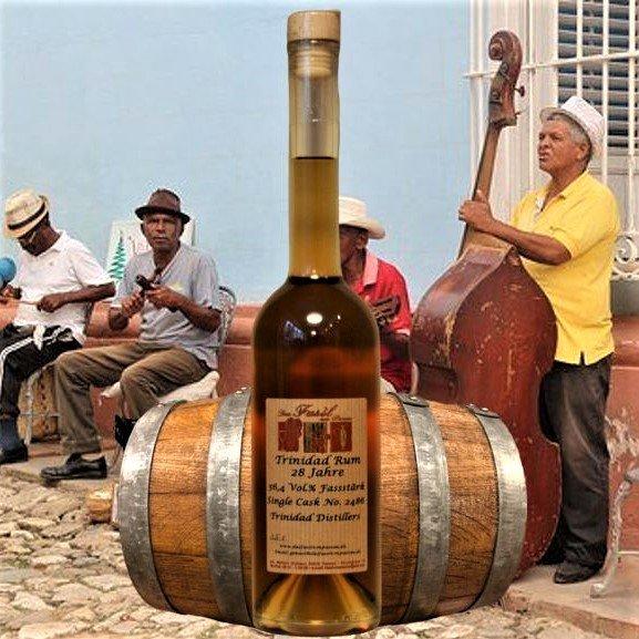 Trinidad Rum 28 Jahre 56,4% Vol. Fassstärke Single Cask no. 2486