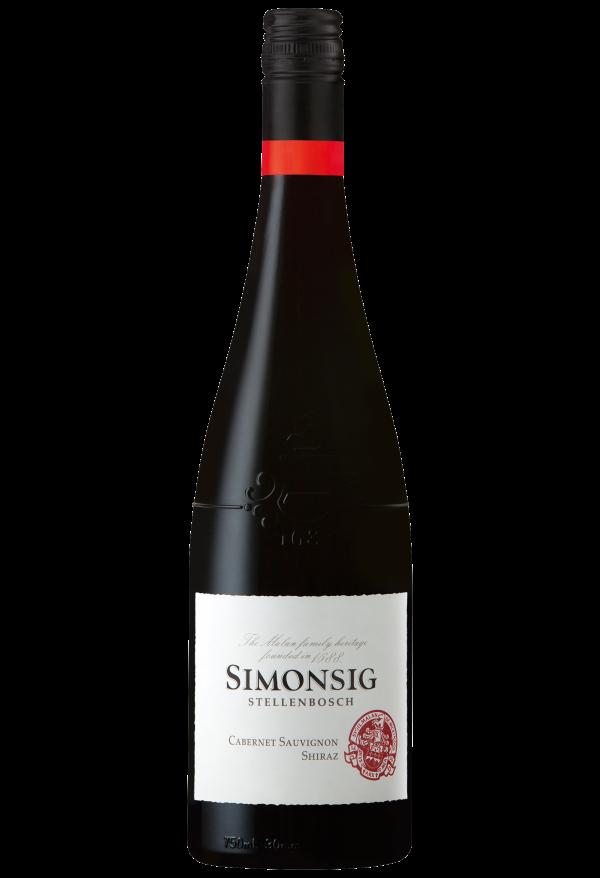 Simonsig Cabernet Sauvingnon & Shiraz W.O. Stellenbosch