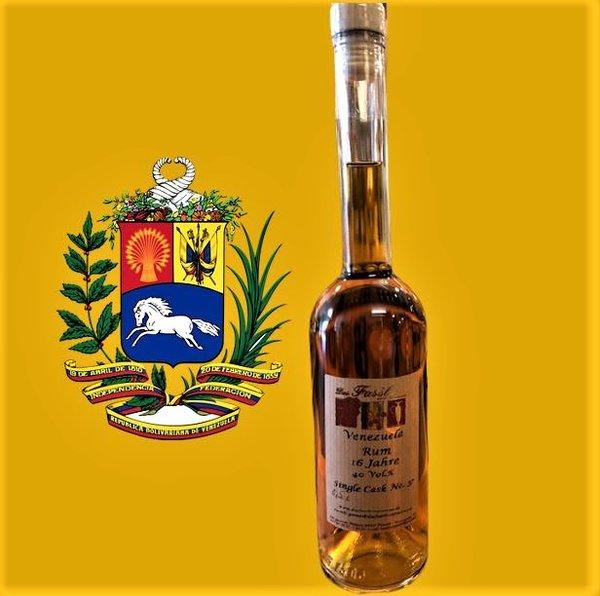 Venezuela Rum  16 Jahre 40 %Vol.  Single Cask No. 37