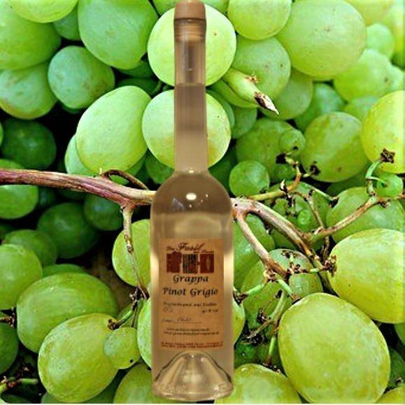 Grappa Pinot Grigio  40 % Vol.