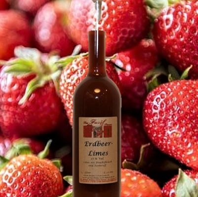 Erdbeerlimes 16 % Vol.