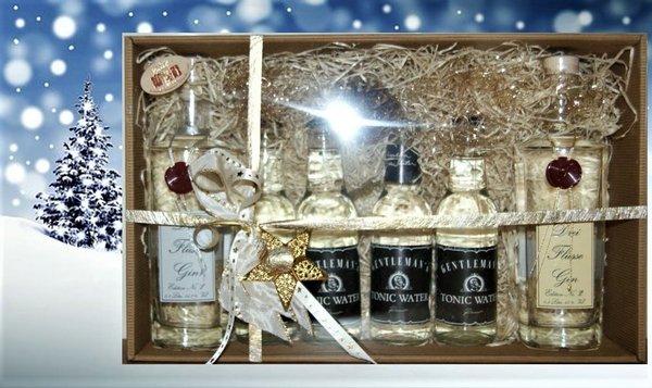 Drei Flüsse Gin Geschenkpaket Deluxe